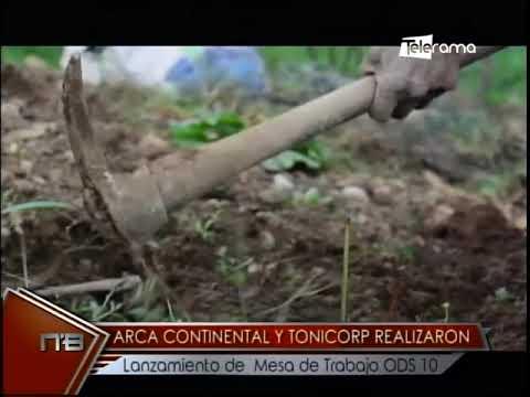 Arca Continental y Tonicorp realizaron lanzamiento de mesa de trabajo ODS 10