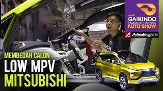 Video First look Mitsubishi XM Concept (crossover MPV) at GIIAS 2016 MP3, 3GP, MP4, WEBM, AVI, FLV Desember 2017