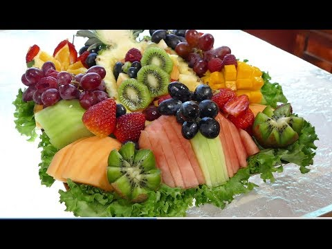 How to Make a Fruit Platter Like a Professional!