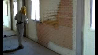 Sellado perimetral de ventana con Poliuretano Proyectado