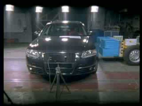 Audi A6 Краш-тест Audi A6 от EuroNCAP (Боковой удар)