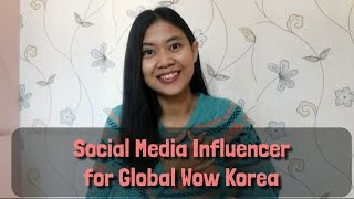 Video #Evlog To Be Social Media Influencer for Global Wow Korea 2016! MP3, 3GP, MP4, WEBM, AVI, FLV Maret 2018