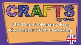 Box United Kingdom  city photos : United Kingdom's Cricut Mystery Box - November 2016 Unboxing/Reveal