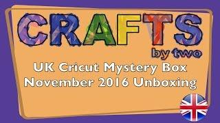 Box United Kingdom  city photo : United Kingdom's Cricut Mystery Box - November 2016 Unboxing/Reveal