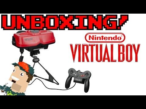 Nintendo Virtual Boy UNBOXING!!