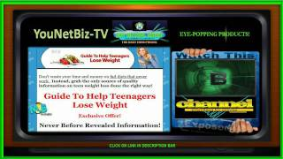 loose weight for teenagers YouTube video