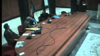 Assemblea ex Parlamentari - Terzo intervento dell\'On. Coccia