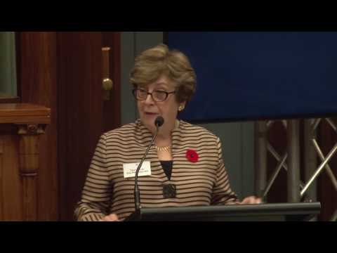"""View Cunningham Lecture 2016: """"Will you still need me, will you still……"""" video"""