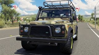 Land Rover Defender 90 1997 (Modern Offroad BodyKit) - Forza Horizon 3 - Test Drive Gameplay