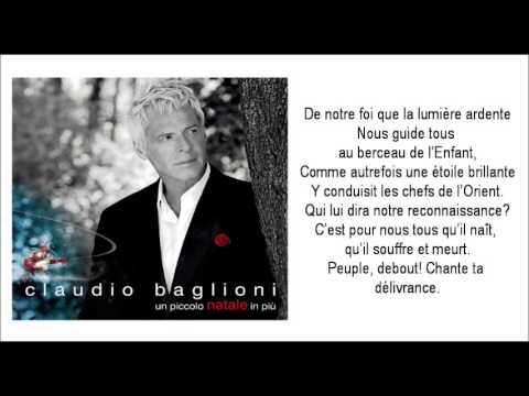 , title : 'CLAUDIO BAGLIONI  / Cantique De Noël'