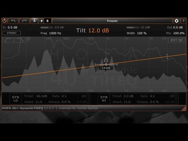 HOFA 4U+ DynamicTiltEQ [English]