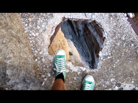 gli 8 posti più pericolosi del mondo - filmato da brividi