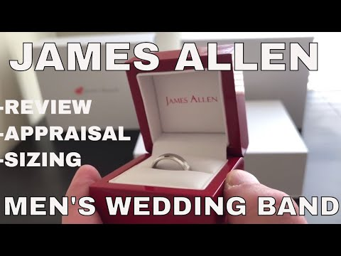 James Allen Men's Wedding Band Review and Unboxing