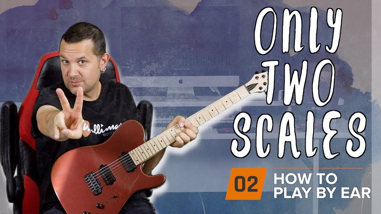 Playing Solo Guitar By Ear Part 2: The MOST Important Scales