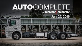 AutoComplete for July 27, 2016: Daimler unveils the electric truck of the future by Roadshow
