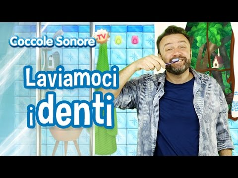 Laviamoci i Denti - Canzoni per bambini di Coccole Sonore feat. Stefano Fucili