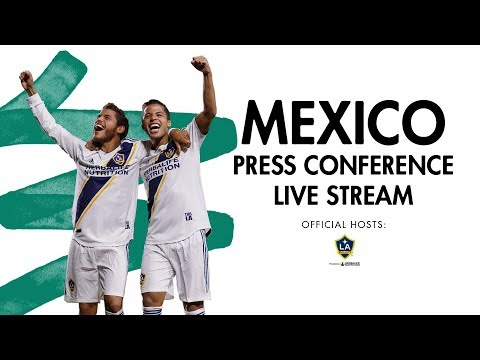 Video: Mexican National Team News Conference to Announce Plans for World Cup Sendoff Game and Fan Events