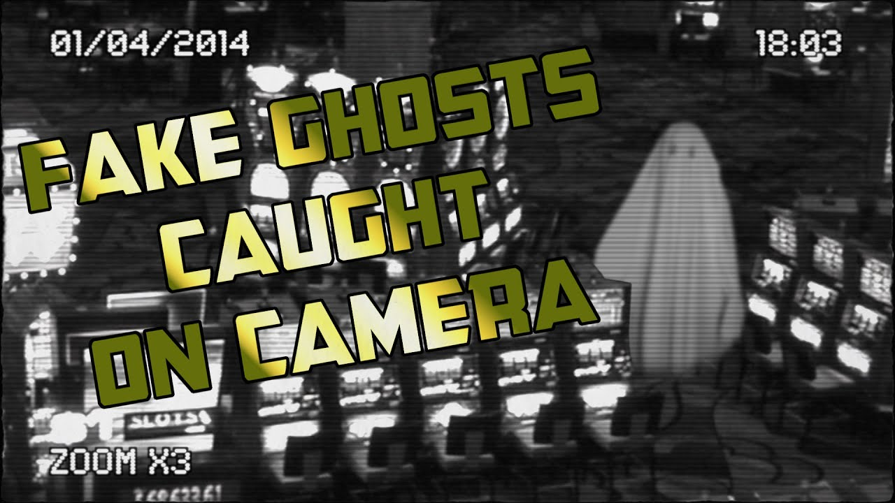 Fake Ghosts Caught On Camera