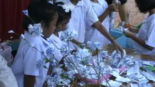 ทำดอกไม้จากถุงนม.MPG
