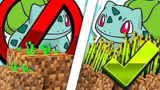 BULBASAUR MAKES CROPS GROW INSTANTLY!! MONEY GLITCH!! - PokeFind Sky Block #4
