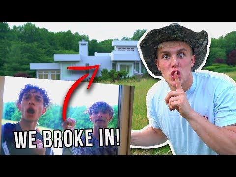 I BROKE INTO THE DOBRE BROTHERS HOUSE!!