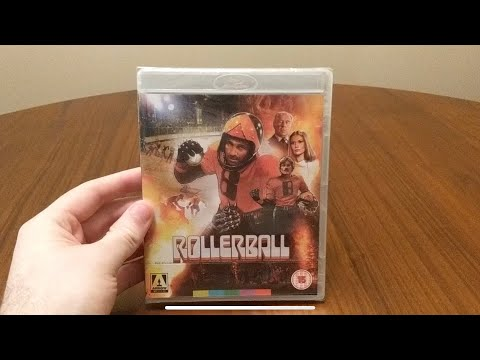 Rollerball (1975) Dir.  Norman Jewison Arrow Video Blu-Ray Unboxing