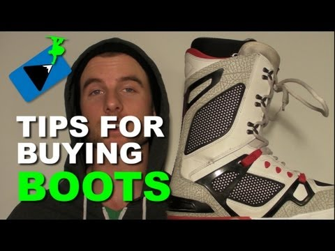 Tips For Buying Snowboard Boots - Snowboard Gear Tips