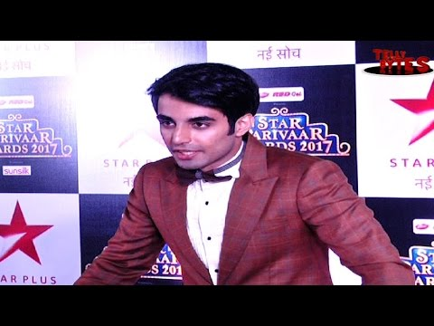 Karan Jotwani aka Saiyaam at Star Parivar Awards R