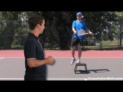 Tennis Fitness — Plyometric Box Exercises