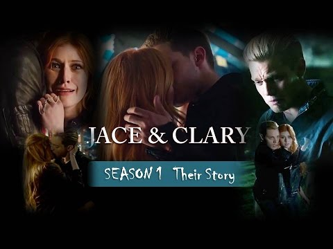 """Jace & Clary """"Their story"""" Season 1"""