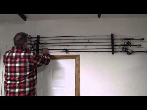 How to Mount Fishing Rod Racks