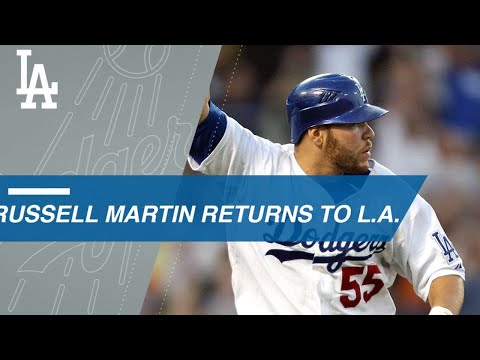 Video: Russell Martin's top moments with the Dodgers