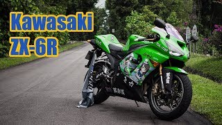 4. 2005 Kawasaki Ninja ZX-6R 636 [RP Motorcycle Reviews]