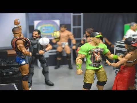 WWE ACTION FIGURE SETUP! PRE-ROYAL RUMBLE EDITION!