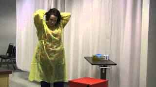 Donning And Removing PPE - Nursing Assistant Training Skill #8