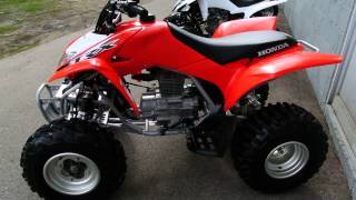 8. 2014 Honda TRX250X ATV