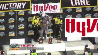 Knoxville Raceway 410 Highlights May 13, 2017