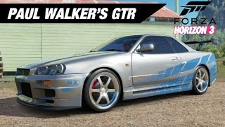 Nonton Paul Walker's Skyline GTR Build - Forza Horizon 3 Film Subtitle Indonesia Streaming Movie Download