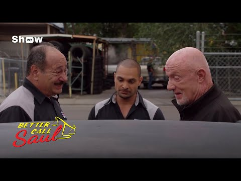 Better Call Saul - Mike At Nacho's Shop