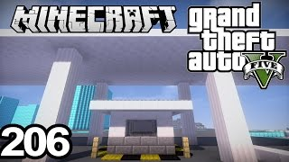 """GTA 5 in Minecraft #206   """"ENTRANCE TO THE FACILITY"""""""