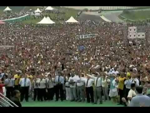 Milh�es de evang�licos em S�o Paulo pede paz para 2011