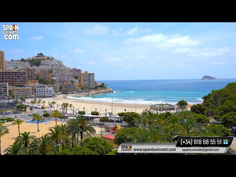 1 линия моря/Апартаменты у моря для сдачи в аренду/Квартира в Бенидорме/Недвижимость в Испании 2020