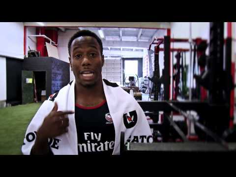 Train with USA's speedster Carlin Isles