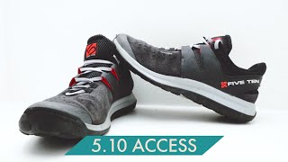 5.10 Access Shoes - Thoughts and Review by Verticalife
