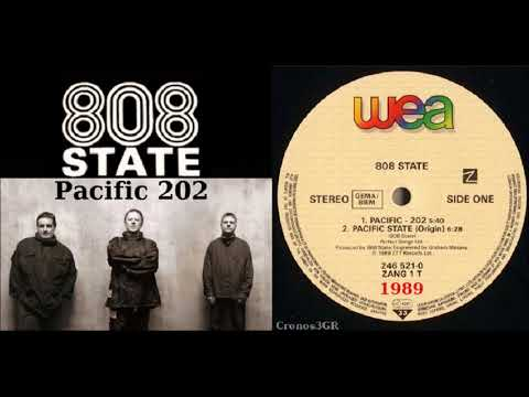 808 State  - Pacific 202 'vinyl'