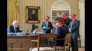 President Trump has been in office for only seven months yet he's said goodbye to numerous people within his administration.