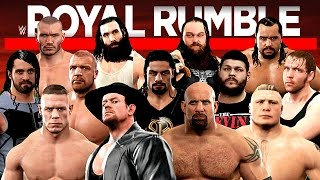 Nonton WWE Royal Rumble 2017 WWE 2K17 Live Stream Film Subtitle Indonesia Streaming Movie Download