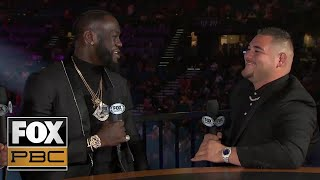 Deontay Wilder, Andy Ruiz Jr. on future of heavyweight division, unification bout | PBC ON FOX