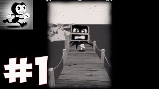 Bendy in Nightmare Run - Gameplay Walkthrough part 1 - Bendy Walks The Plank Act 1(iOS, Android)