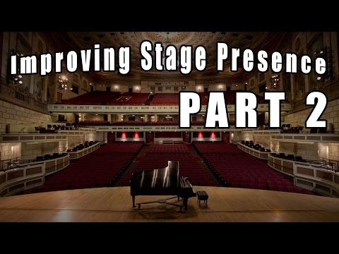 Tips for Improving Stage Presence - Take Time Between Bows